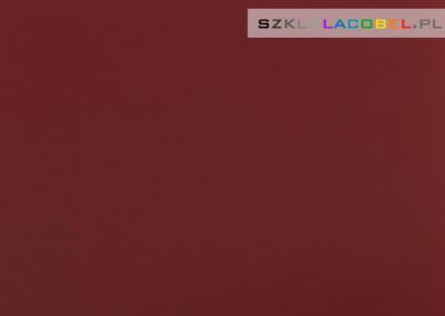 Szklo Na Sciane Ciemna Czerwien 3004